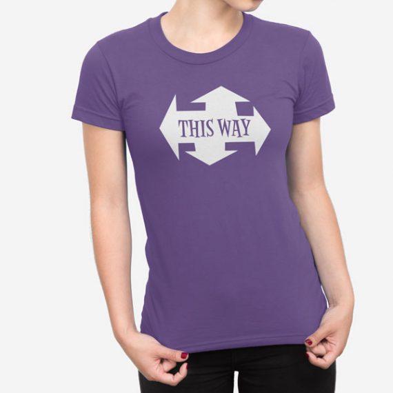 Ženska kratka majica This Way