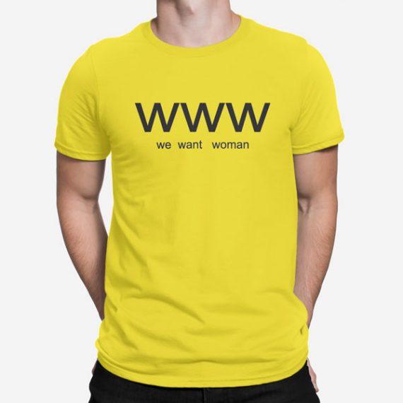 Moška kratka majica WWW