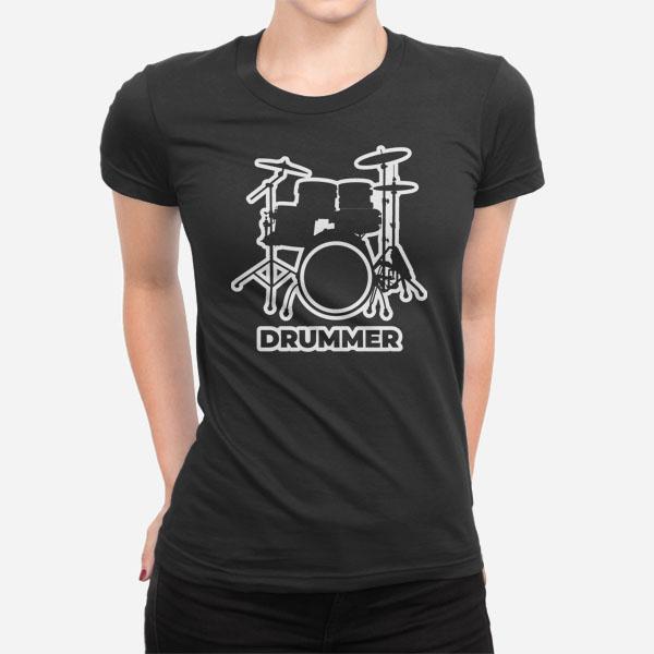 Ženska kratka majica Drummer 2