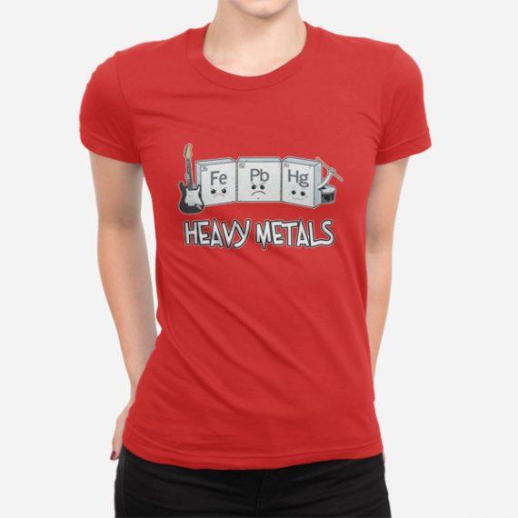 Ženska kratka majica Heavy Metals