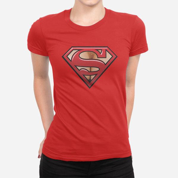Ženska kratka majica Super prsi