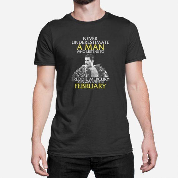 Moška kratka majica Freddie Mercury