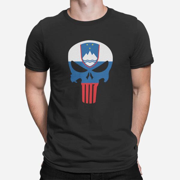 Moška kratka majica Slovenski Punisher