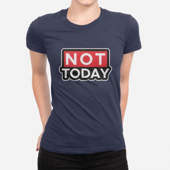 Ženska kratka majica Ne danes