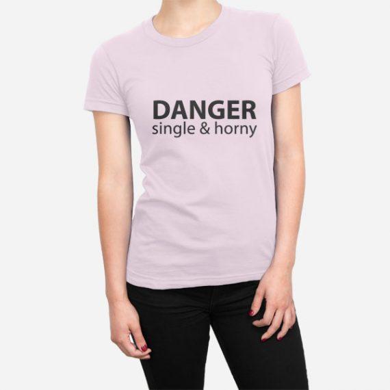 Ženska kratka majica Nevarnost