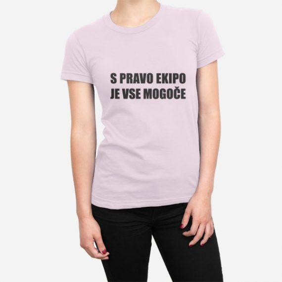 Ženska majica S pravo ekipo