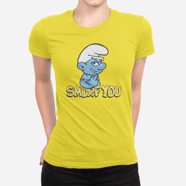 Ženska kratka majica Smurf you