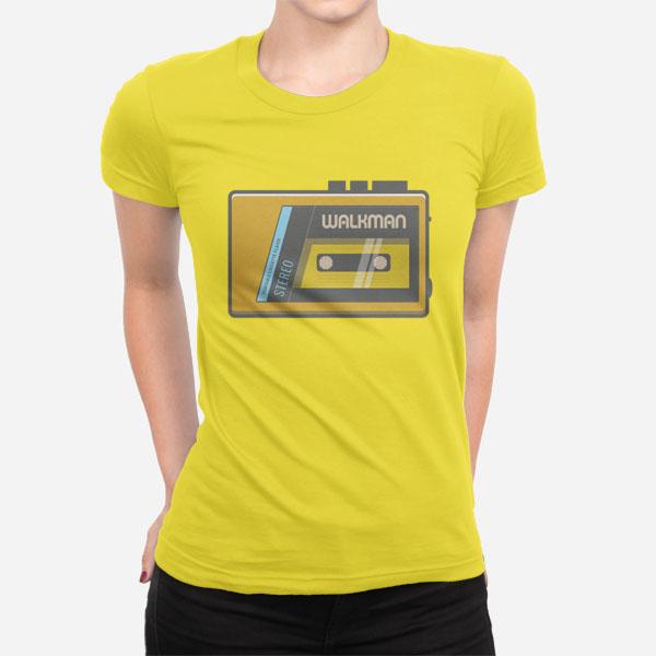 Ženska kratka majica Walkman