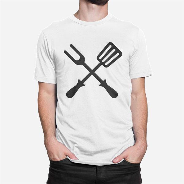 Moška kratka majica Grill orodje