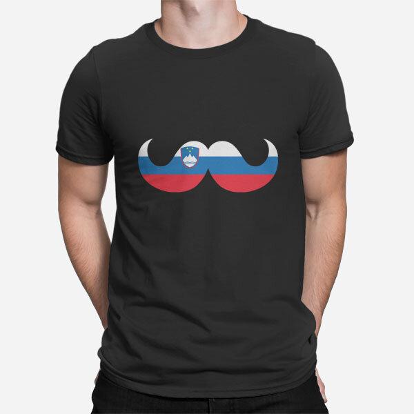Moška kratka majica Slovenski brki