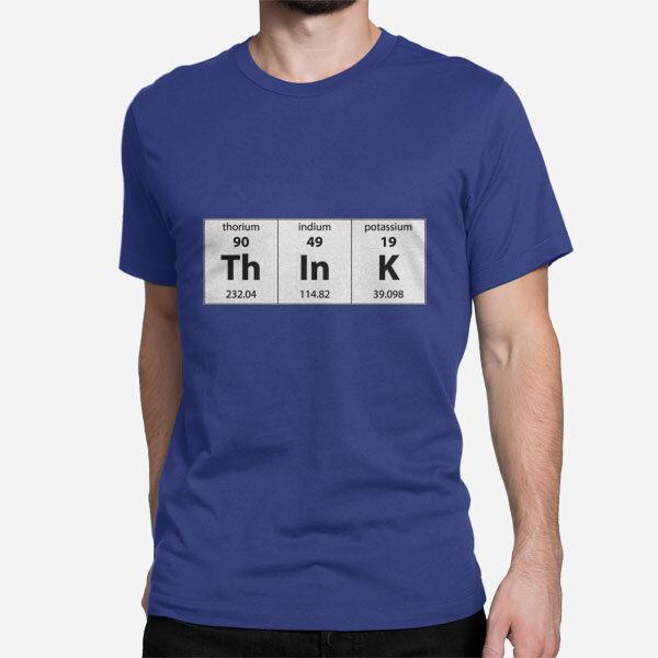 Moška kratka majica Periodni element Think