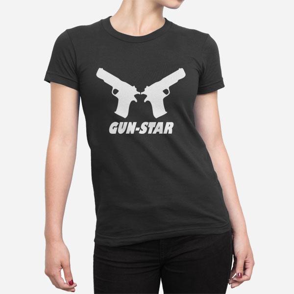 Ženska kratka majica Gun Star