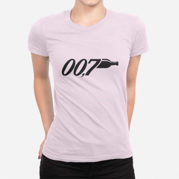 Ženska kratka majica 007 Promila alkohola
