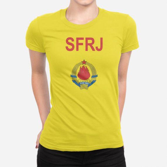 Ženska kratka majica SFRJ
