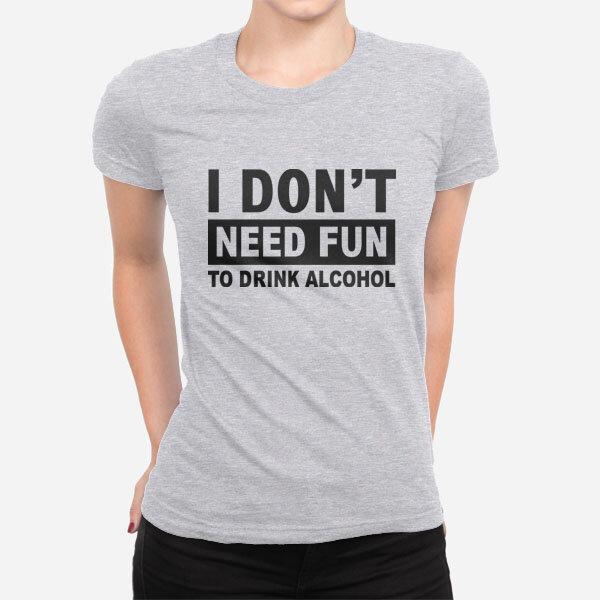 Ženska kratka majica Need Fun