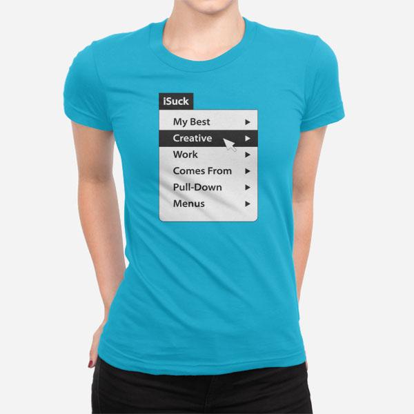 Ženska kratka majica iSuck