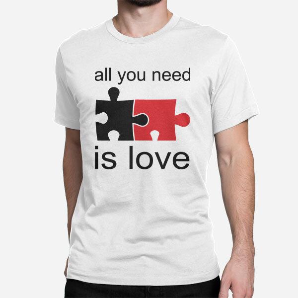 Moška kratka majica All You Need is Love