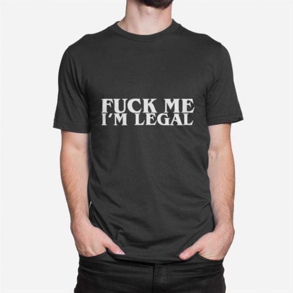 Moška kratka majica Fuck Me