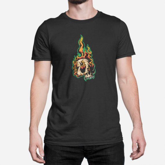 Moška kratka majica Ognjena glava