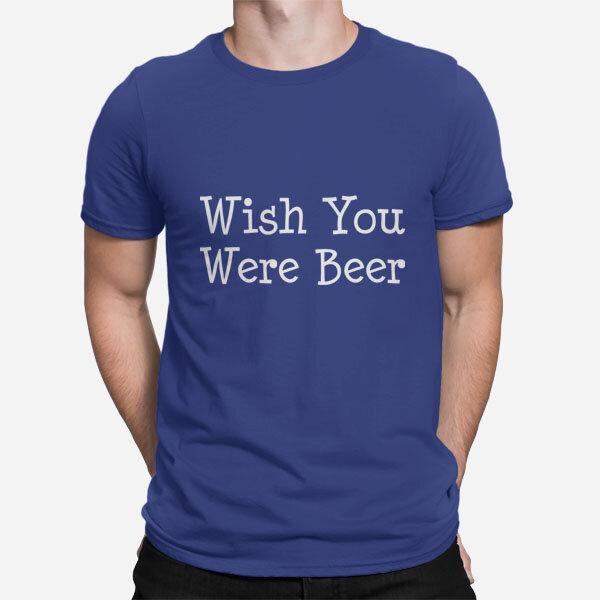 Moška kratka majica Wish You Were Beer