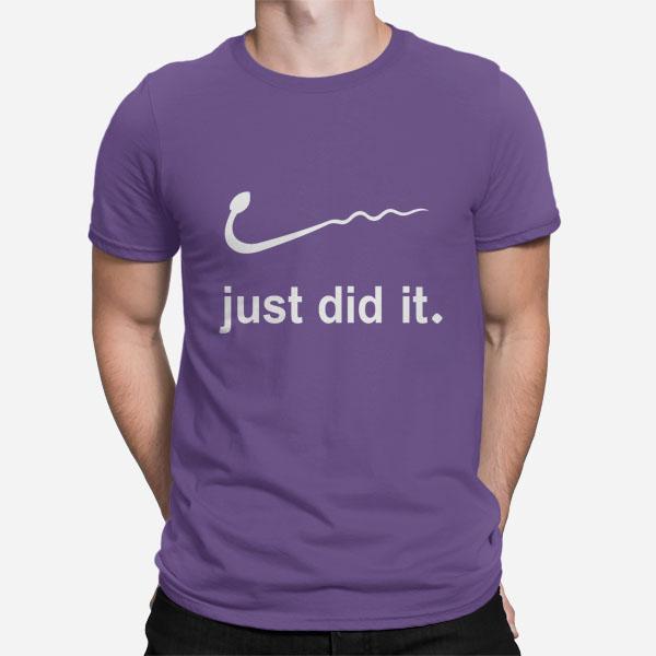 Moška kratka majica Just did it