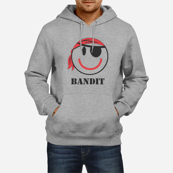 Moški pulover s kapuco Bandit