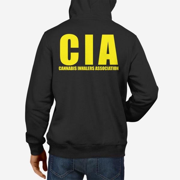 Moški pulover s kapuco CIA