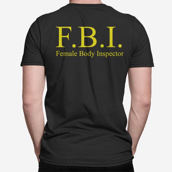 Moška kratka majica FBI