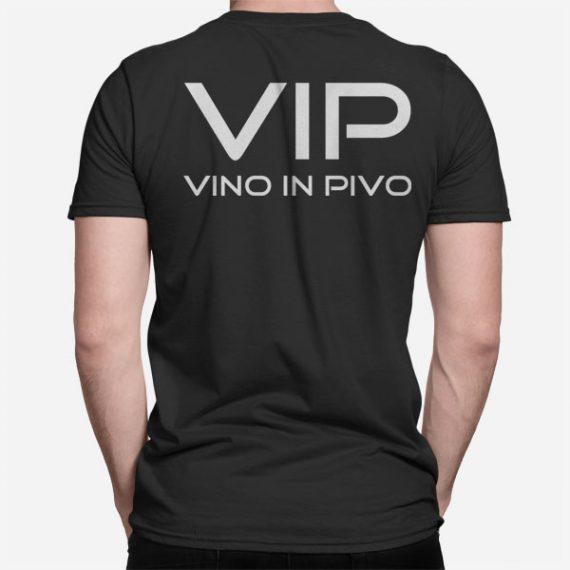 Moška kratka majica VIP Vino in Pivo
