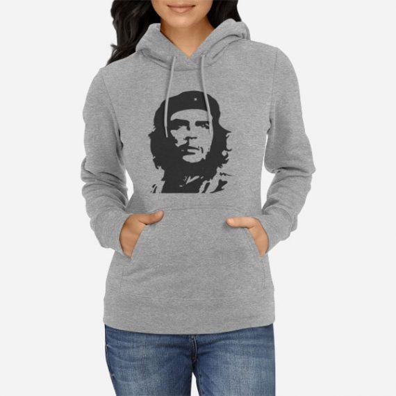 Ženski pulover s kapuco Che Guevara