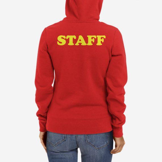 Ženski pulover s kapuco Staff