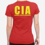Ženska kratka majica CIA