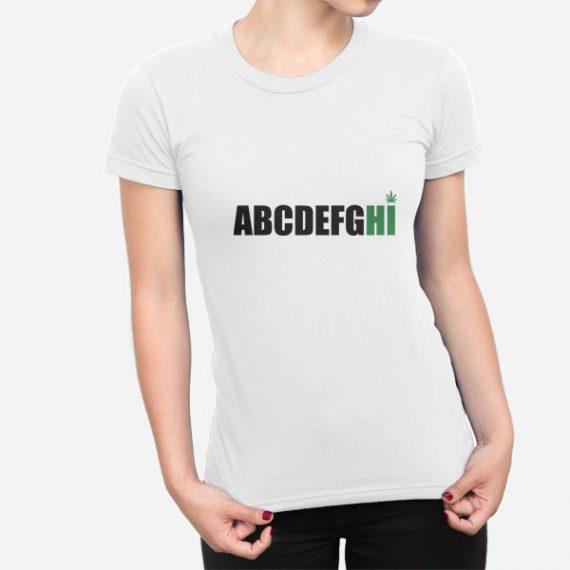 Ženska kratka majica AbcdefgHI