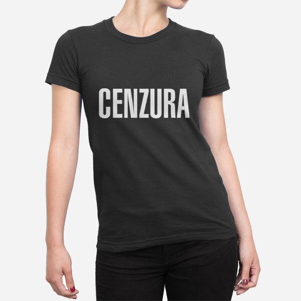 Ženska kratka majica Cenzura