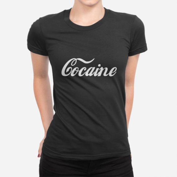 Ženska kratka majica Cocaine
