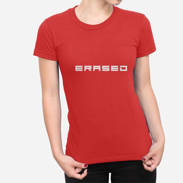 Ženska kratka majica Erased