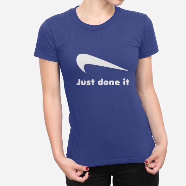 Ženska kratka majica Just done it