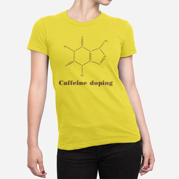 Ženska kratka majica Caffeine doping