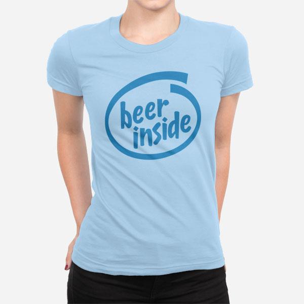 Ženska kratka majica Beer Inside