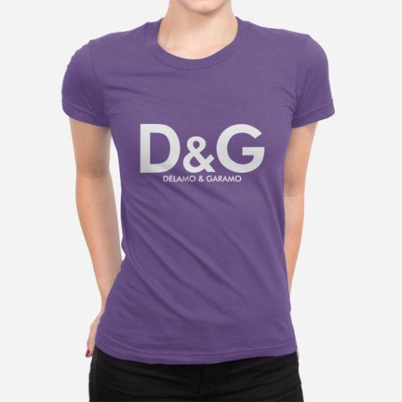 Ženska kratka majica Delamo in Garamo