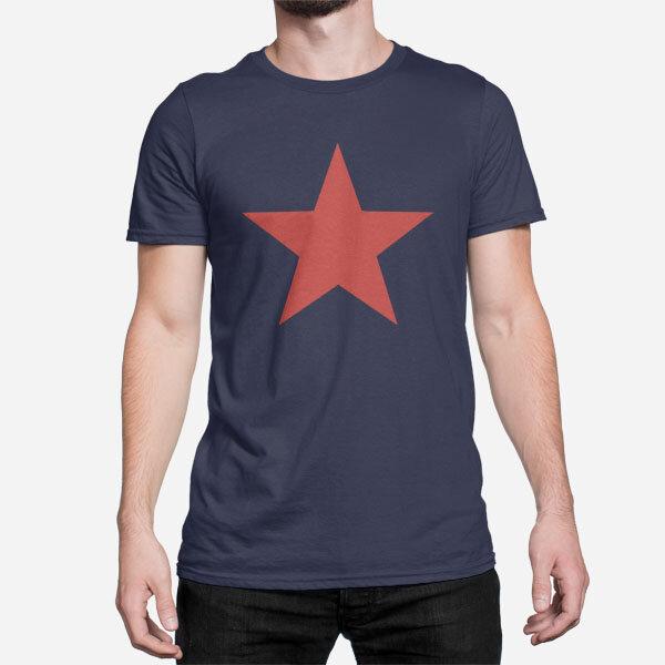 Moška kratka majica Rdeča zvezda