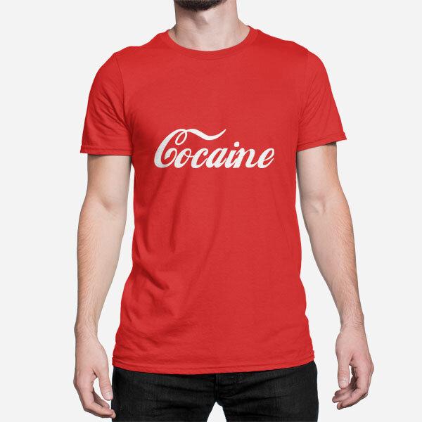 Moška kratka majica Cocaine