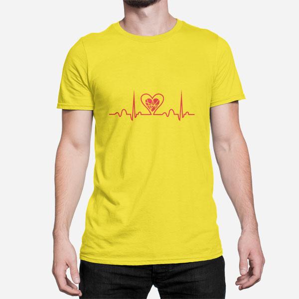 Moška kratka majica Aritmija