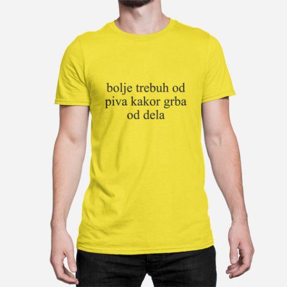 Moška kratka majica Grba od dela