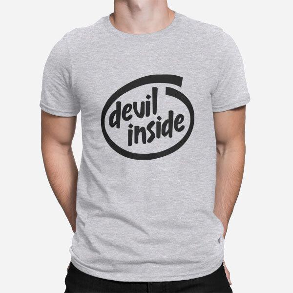 Moška kratka majica Devil Inside