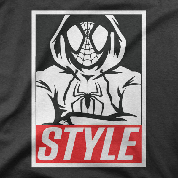 Design Spiderman style