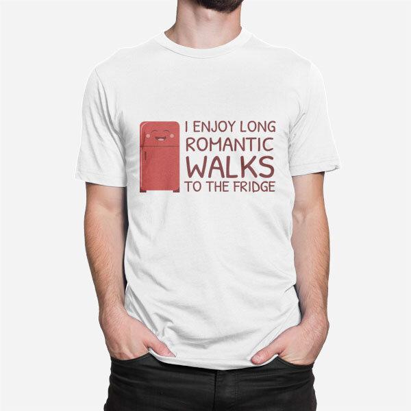 Moška kratka majica Sprehod do hladilnika