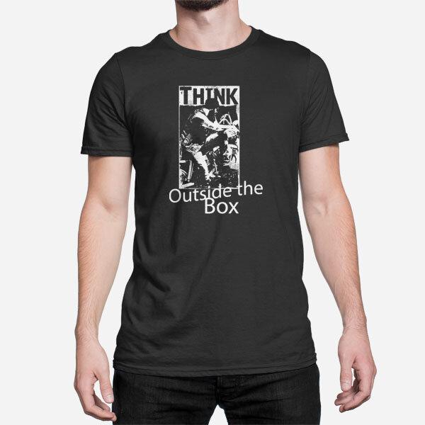 Moška kratka majica Design Think outside the box