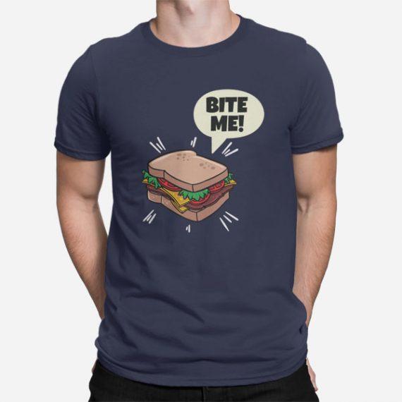 Moška kratka majica Bite me