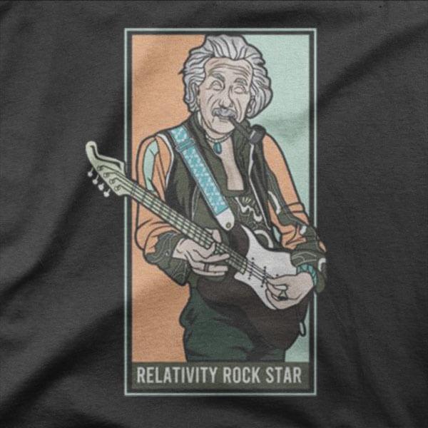 Design Relativna rock zvezda